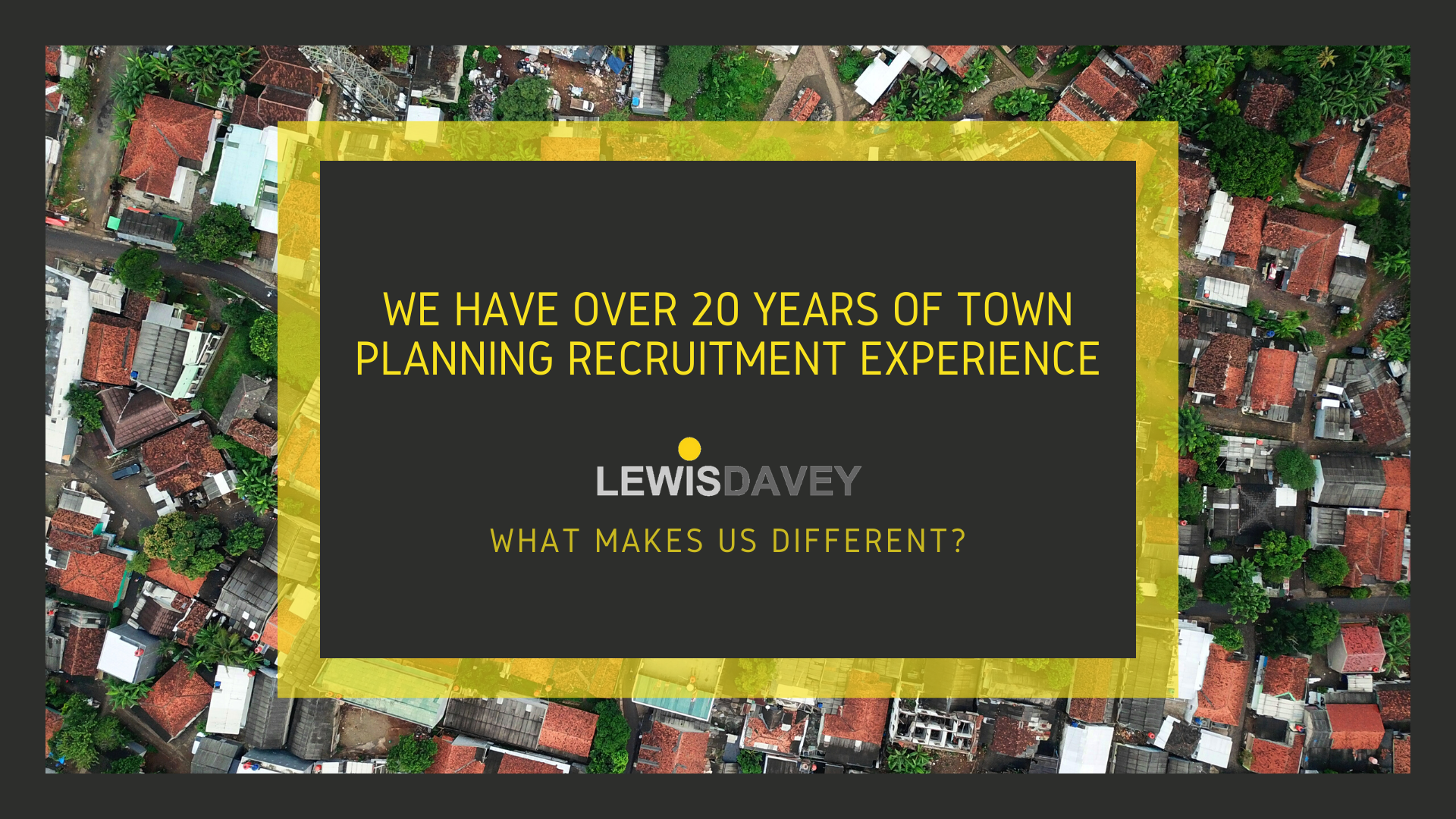 20 yrs exp - what makes us different