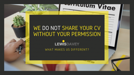 CV sharing - what makes us diferent